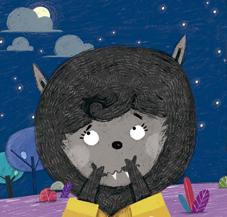 ana zurita ilustracion werewolf carson